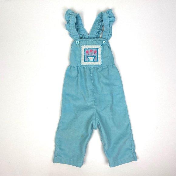 Vtg Girls Overalls Vtg Pink Girls Overalls Vtg Toddler Overalls 2t Vintage Health Tex Overalls